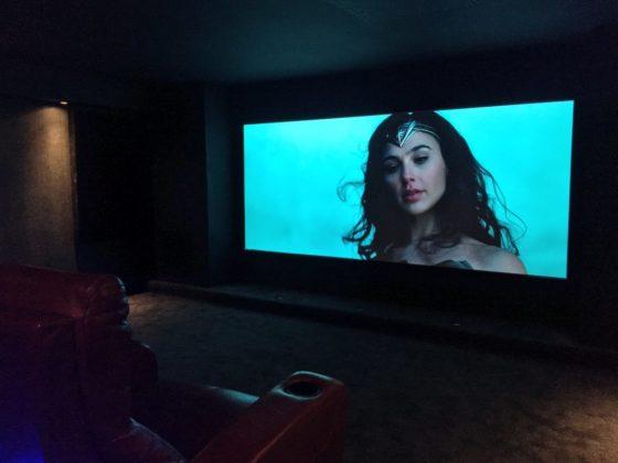 Double Garage conversion into dedicated cinema