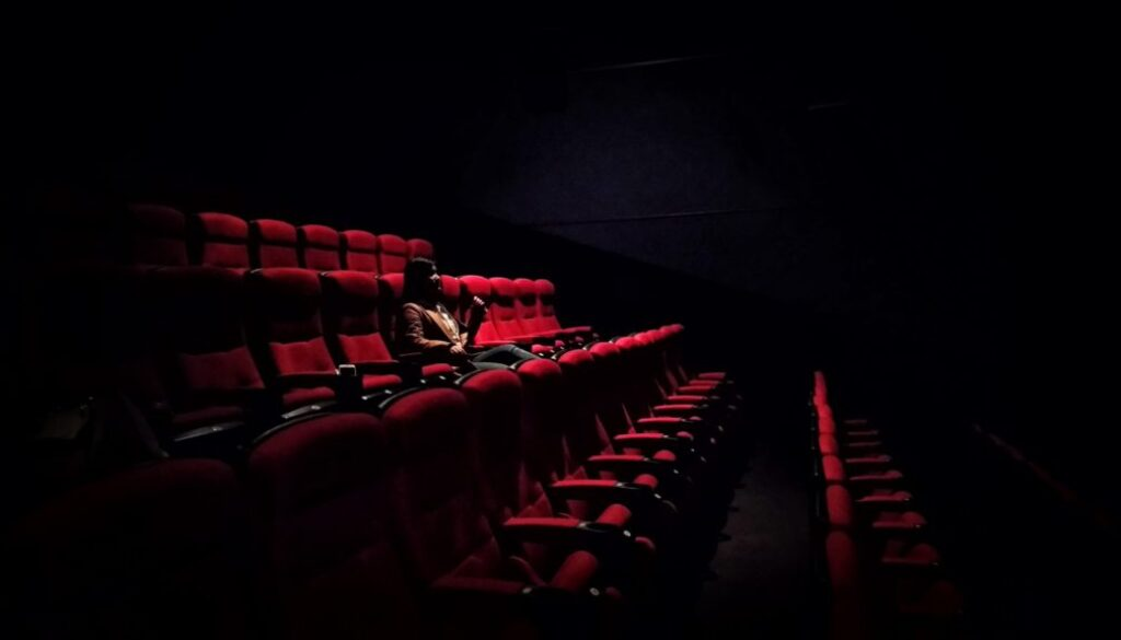 Cinema hall seat occ sing